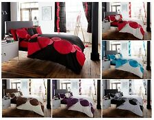 Luxury SOLO Duvet Quilt Cover Bedding Set with Pillowcases – All sizes
