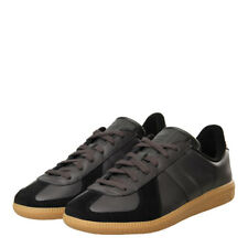 New Mens adidas  BW Army Trainers - Black/Gum 100% Leather
