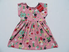 Hanna Andersson 100 130 Girls Daydress Dress NEW Pink 100% Cotton Floral 4 8 NWT