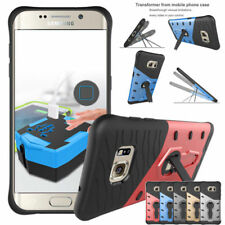 360 Kickstand Hybrid Rugged Rubber Cover Case For Samsung Galaxy S7 Edge J5 2016