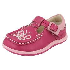 Clarks First shoes Alana Star FST Hot Pink Leather girls shoes