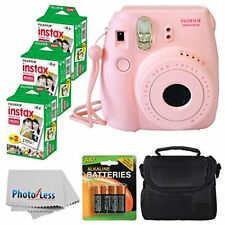 Fujifilm Instax Mini 8 Instant Film Camera Pink With Fujifilm Instax Mini 6 P...