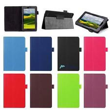 For Amazon Kindle Fire 7  Tablet Magnetic Leather Stand Case Smart Cover AB