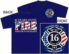 16th Anniversary World Trade Center (WTC) FIRE Memorial Tee
