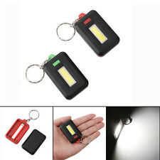 Portable Mini COB LED Flashlight Torch Light Keychain Flashlight Night Light
