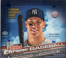 2017 Topps Chrome Singles Pick from List Complete Your Set LIST A (#1-100)