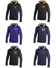 Under Armour Men's-NCAA-Hooded-Long Sleeve-Henley Shirt 6 TEAMS TO CHOOSE FROM