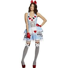 FEVER MISS WONDERLAND Fancy Dress Costume Sexy Ladies Adults Outfit