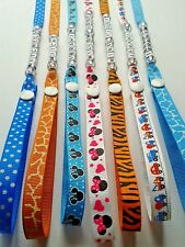 SOPHIE THE GIRAFFE STRAP TOY SAVER HOLDER OR DUMMY CLIPS PERSONALISED