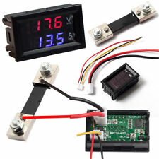 100V 10A 50A 100A Voltmeter Ammeter LED Dual Digital Volt Amp Meter Gauge Useful