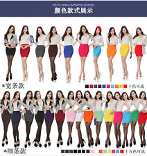 Hot Sexy Women Mini Skirt Pleated Seamless Stretch Tight Slim Candy Pencil Dress