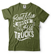 Truck Driver T Shirt Men Drive Big Trucks Truck Driver Gift T-shirt