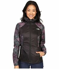 NWT The North Face Women's Flyweight Hoodie Wind Jacket Green/Pink Camo Sz XS-XL