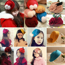 Ladies Feather Rose Top Cap Hat Lace fascinator Girl Hair Clip Costume Accessory