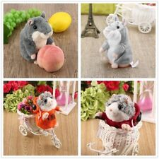 Adorable Toy Mimicry Pet Speak Talking Record Hamster Mouse Plush Kids Toy ZXE