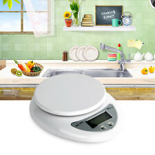 5kg 5000g/1g Digital Electronic Kitchen Food Diet Postal Scale Weight Balance #L