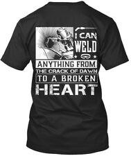 Welder - I Can Weld Anything From The Crack Of Dawn To A Premium Tee T-Shirt