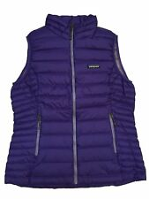Patagonia Womens Down Sweater Vest, Concord Purple