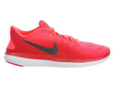 NEW WOMENS NIKE FLEX RUN 2017 RUNNING SHOES TRAINERS SOLAR RED / BLACK / UNIVERS