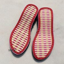 Lady Wedge Slipper Sandal Sole Bamboo Woven Shoe Making Replacement Elegant DIY