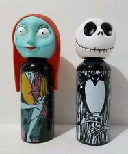 Nightmare Before Christmas Jack Skellington or Sally Water Bottle Aluminum NEW
