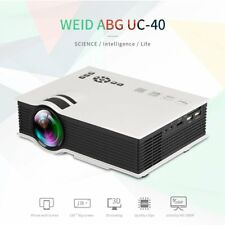 UC40 LED Projector 1200lm Full HD 1080P HIFI Sound Business Conference EW