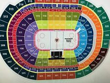 2 Florida Panthers vs San Jose Sharks Sec 133 Row 22 Aisle Tickets 12/1/17