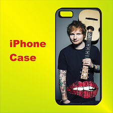 Ed Sheeran singer songwriter, musician Case Cover iPhone 4s 5s 5c 6+ 6s se 7 8 X