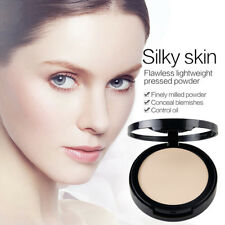 Women's Makeup Oil Control Conceal Flawless Pressed Powder Foundation Delightful