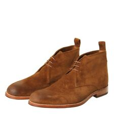 New Mens Grenson  Marcus Boot - Brown Snuff Suede Suede