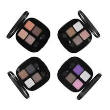 Natural 4 Colors Cosmetic Eyeshadow Palette Eye Shadow Makeup Applicator Set