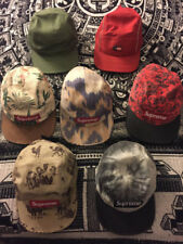 Supreme Camp Caps RARE Ikat Floral Dogs Ducks Tie Dye AirMax Pre-Owned since '12