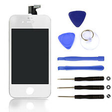 LCD For iPhone 4 4S Black White Digitizer Touch Screen Replacement Assembly