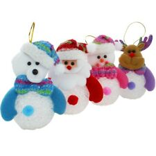 Christmas Snowman Ornaments Festival Party Xmas Tree Hanging Decoration