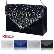 AU Bridal Stylish Handbags Lace Floral Satin Clutch Purse Evening Party Gift
