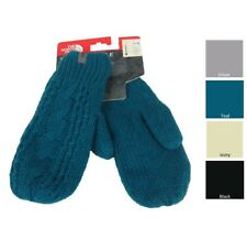 NWT The North Face Women's Fleece Lined Cable Knit Mittens Choose Size and Color