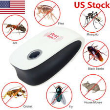 US Ultrasonic Electronic Indoor Anti Mosquito Rat Mice Pest Bug Control Repeller
