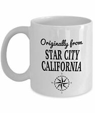 Comics Mug - Originally from Star City, California - Cool Ceramic Coffee Mug for