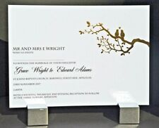 Luxury Personalised Foil Stamped Wedding Invitations