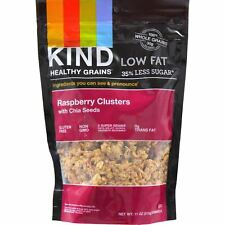 Kind Clusters - Granola - Healthy Grains - Raspberry with Chia Seeds - 11 oz - C
