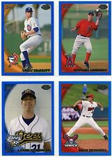 2010 Topps Pro Debut Baseball Blue Parallel Card # to 369 (You Choose