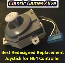 Best Redesigned Replacement Joystick for Nintendo 64 Controller N64 Thumbstick