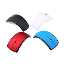 Folding Wireless Mouse for PC Laptop Computer Mini USB 2.4Ghz