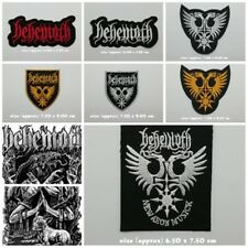 Behemoth Embroidered Sew Iron on Patch Logo Band Music Rock Heavy Extreme Metal