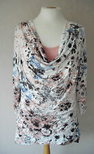BN - GEORGE - size 10 - floral print with insert ladies TOP Tunic - BNWoT