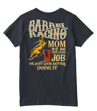 Barrel Racing Mom Looks Better Hanes Women's Relaxed V-Neck