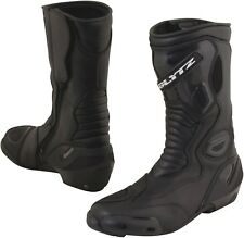 Blytz Indy Black Leather Motorcycle Waterproof Boots New RRP £99.99!!!