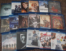 Assorted Blu-Ray Movies (Blu-Ray/Digital Copy, Disc in MINT Condition)