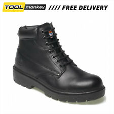 Dickies Antrim Safety Work Boots Steel Toe Cap Black - CLEARANCE