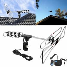 LOT 150Mile HD Digital Indoor/Outdoor VHF UHF FM HDTV TV Amplified Antenna US OY